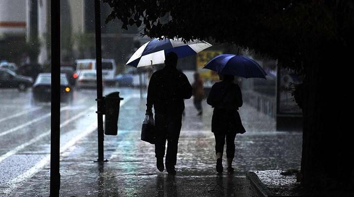 Meteoroloji'den Marmara için kuvvetli yağış uyarısı